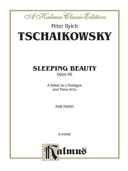 Sleeping Beauty Opus 66 - TCHAIKOVSKY - Partition - laflutedepan.com