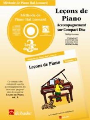 Leçons de Piano Volume 3. CD - laflutedepan.com