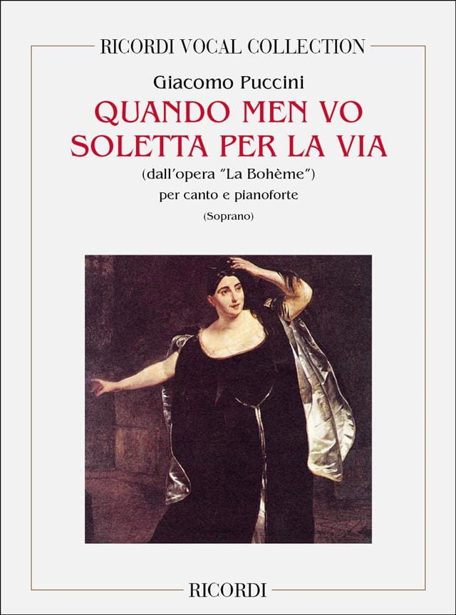 Giacomo Puccini - When Men Vo Soletta Per Via. Bohemian - Partition - di-arezzo.com