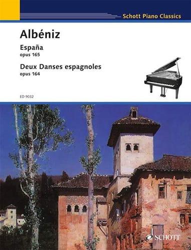 España Opus 165 ; 2 Danses Espagnoles Opus 164 - laflutedepan.com