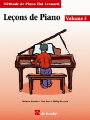 Leçons de Piano Volume 5 - laflutedepan.com