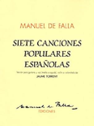 7 Canciones Populares Espanolas - DE FALLA - laflutedepan.com