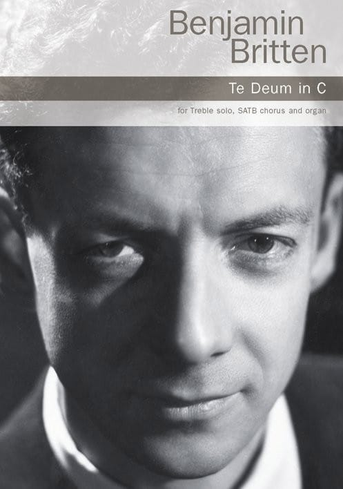 Benjamin Britten - Te Deum In C Major - Partition - di-arezzo.co.uk