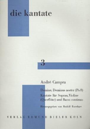 Domine, Dominus Noster Ps. 8 - CAMPRA - Partition - laflutedepan.com