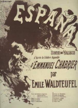 España - Waldteufel Emile - Partition - Piano - laflutedepan.com