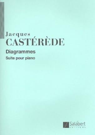 Diagrammes - Jacques Castérède - Partition - Piano - laflutedepan.com