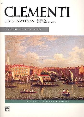 6 Sonatines Opus 36 - CLEMENTI - Partition - Piano - laflutedepan.com