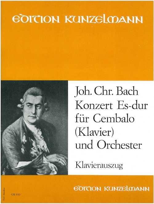 Concerto En Mi Bémol Majeur - Johann Christian Bach - laflutedepan.com