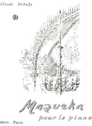 Mazurka - DEBUSSY - Partition - Piano - laflutedepan.com