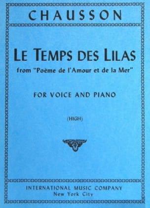 Le Temps des Lilas. Voix Haute - CHAUSSON - laflutedepan.com