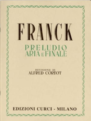 César Franck - Prelude, Aria and Finale. - Partition - di-arezzo.co.uk