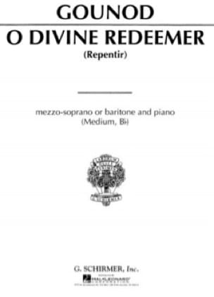 Charles Gounod - O Divine Redeemer. Voix Moyenne - Partition - di-arezzo.fr