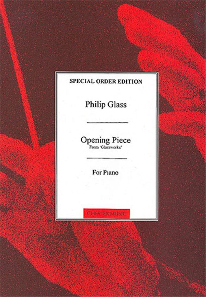 Philipp Glass - Opening Piece - Partition - di-arezzo.co.uk