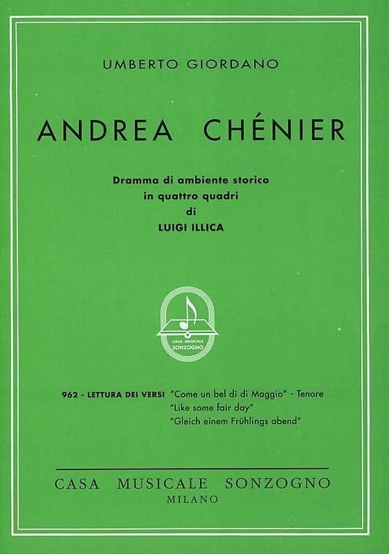 Come un Bel Di Di Maggio. Andrea Chénier - laflutedepan.com