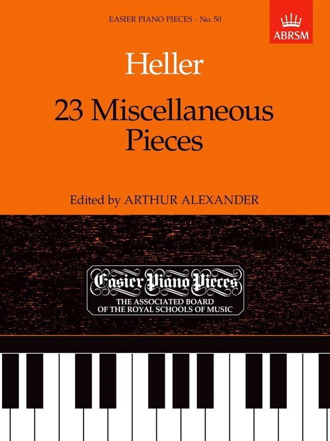 23 Miscellaneous Pieces - Stephen Heller - laflutedepan.com