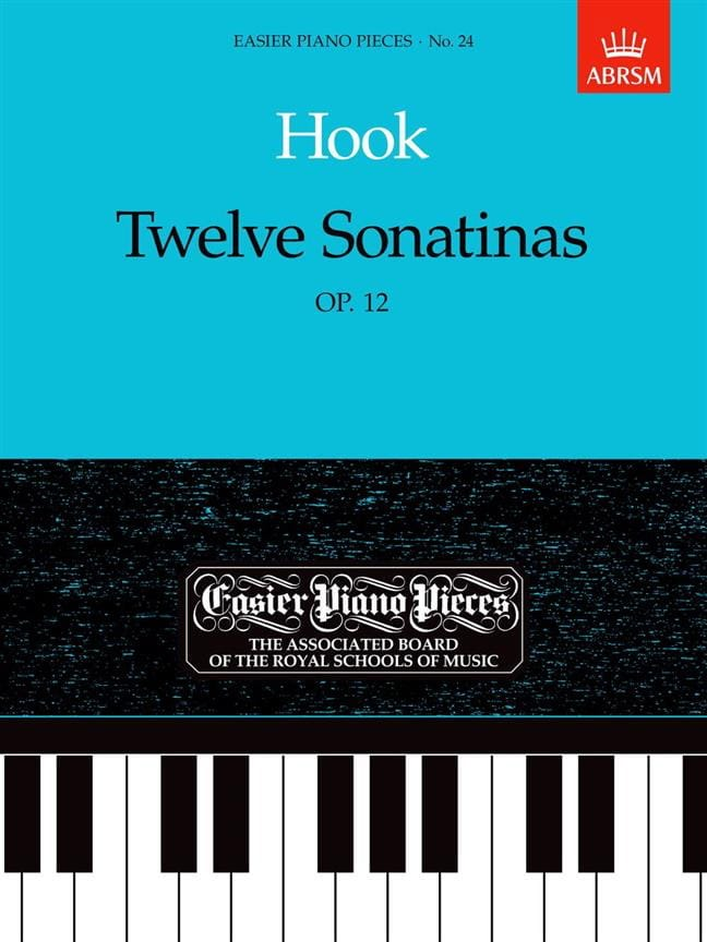 12 Sonatines Opus 12 - James Hook - Partition - laflutedepan.com