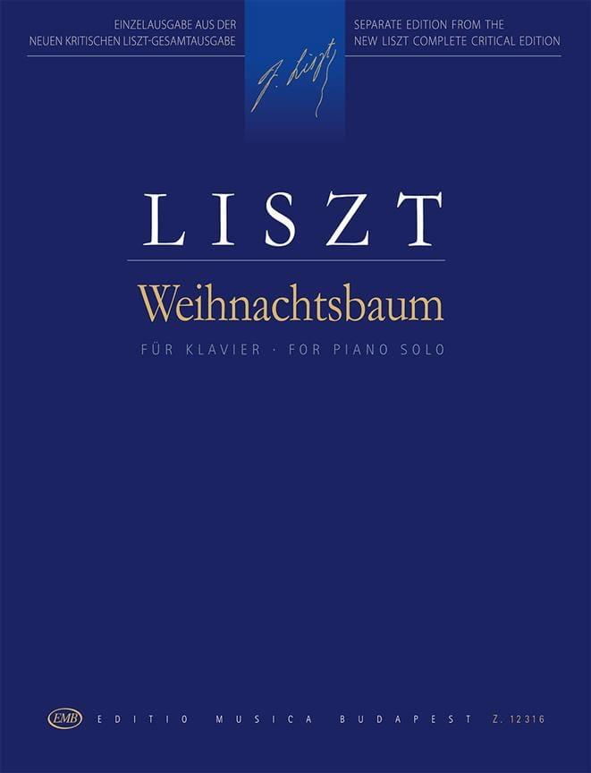 Weihnachtsbaum - Franz Liszt - Partition - Piano - laflutedepan.com