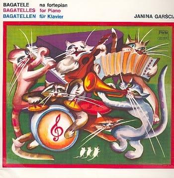 Bagatelles - Garscia - Partition - Piano - laflutedepan.com