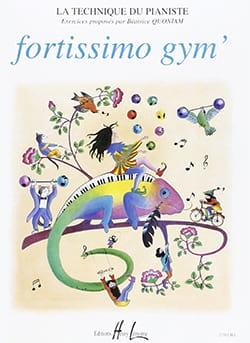 Fortissimo Gym' - Béatrice Quoniam - Partition - laflutedepan.com