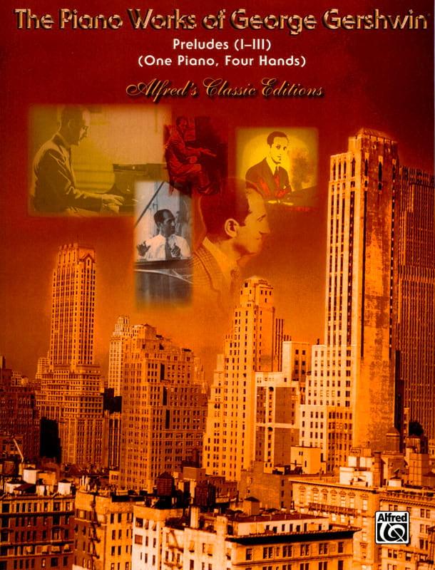 Georges Gershwin - Preludes. 4 Hands - Partition - di-arezzo.com