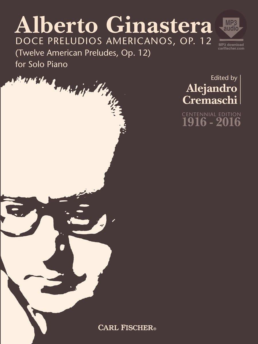 Alberto Ginastera - 12 American Preludes op. 12 full - Partition - di-arezzo.co.uk