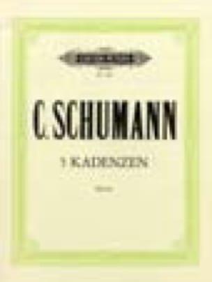 Clara Schumann - 5 Cadences - Partition - di-arezzo.fr