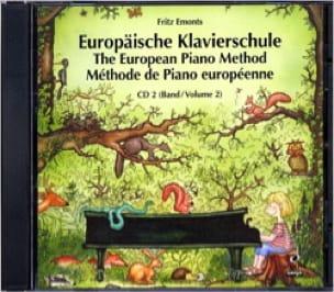 Méthode Européenne - Volume 2 - CD - Fritz Emonts - laflutedepan.com