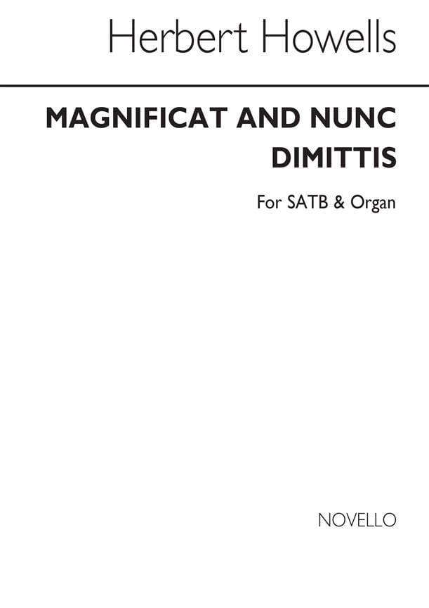 Magnificat And Nunc Dimittis - Herbert Howells - laflutedepan.com