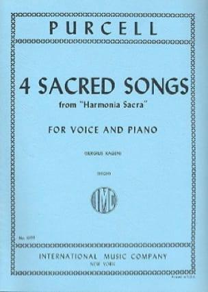 4 Sacred Songs. Voix Haute - PURCELL - Partition - laflutedepan.com