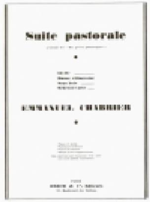 Suite Pastorale - CHABRIER - Partition - Piano - laflutedepan.com