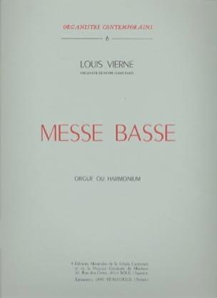 Louis Vierne - Low Mass Opus 30 - Partition - di-arezzo.com