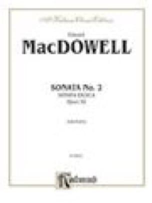 Sonate N°2 Op. 50 Héroïque - Edward MacDowell - laflutedepan.com
