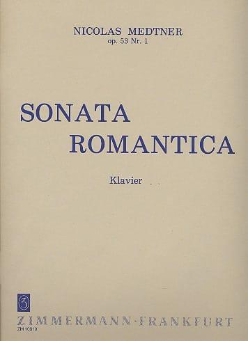 Nicolai Medtner - Sonata romántica Opus 53-1 - Partition - di-arezzo.es