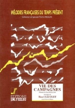 Vie des Campagnes - Henri Sauguet - Partition - laflutedepan.com