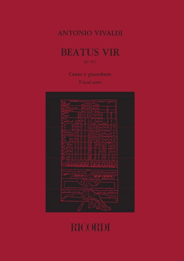 VIVALDI - Beatus Vir - RV 597 - Partition - di-arezzo.co.uk
