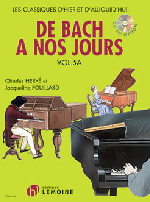 DE BACH A NOS JOURS - from Bach to the present day - Volume 5A - Partition - di-arezzo.com