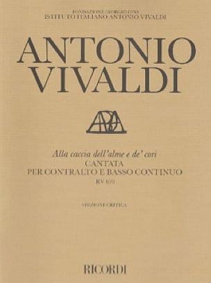 Alla Caccia Dell'alme E De' Cori RV 670 - VIVALDI - laflutedepan.com