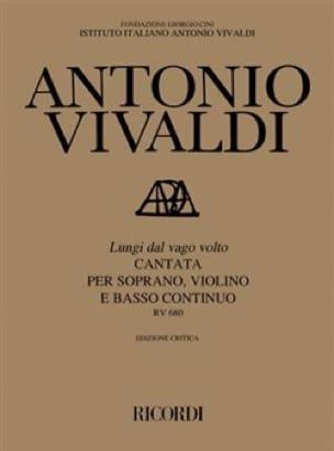 VIVALDI - Lungi Dal Vago Volto RV 680 - Partition - di-arezzo.com