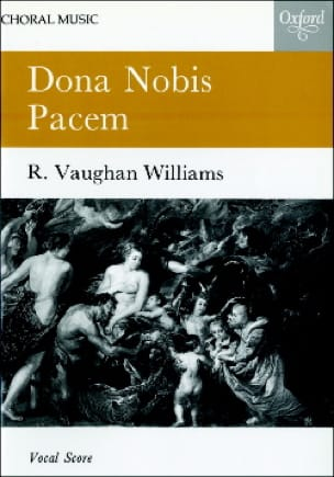 Williams Ralph Vaughan - Dona Nobis Pacem - Partition - di-arezzo.co.uk