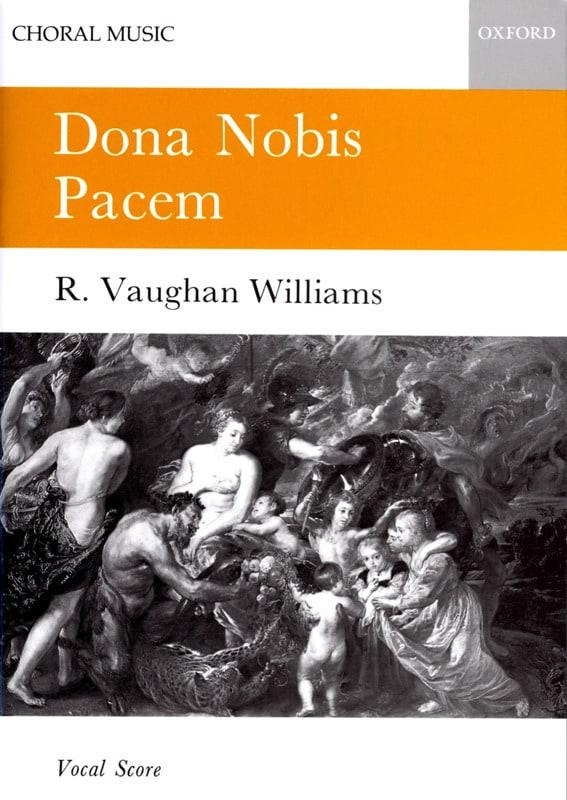 Williams Ralph Vaughan - Dona Nobis Pacem - Partition - di-arezzo.fr