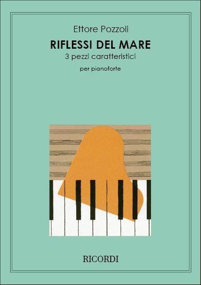 Riflessi Del Mare - Pozzoli - Partition - Piano - laflutedepan.com