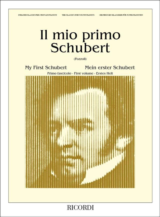 Il Mio Primo Schubert, Volume 1 - SCHUBERT - laflutedepan.com