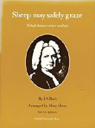 Sheep May Safely Graze. 2 Pianos - BACH - Partition - laflutedepan.com
