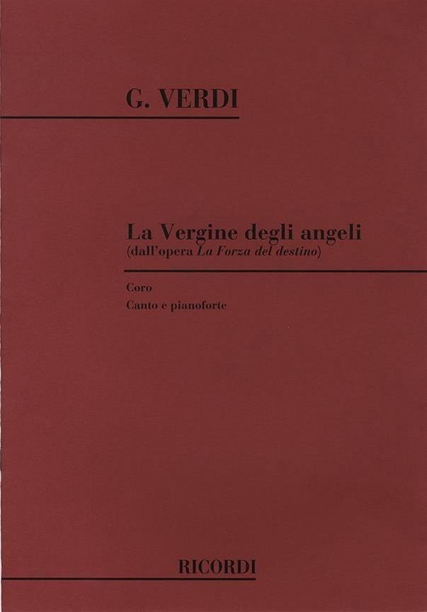 VERDI - Vergine Degli Angeli. Forza Del Destino - Partition - di-arezzo.co.uk