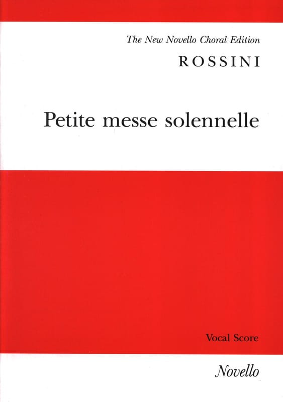 Gioachino Rossini - Piccola messa solenne - Partition - di-arezzo.it