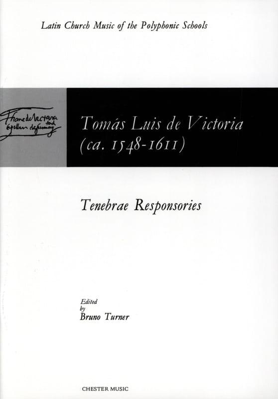 Tenebrae Responsories - Tomas Luis de Victoria - laflutedepan.com