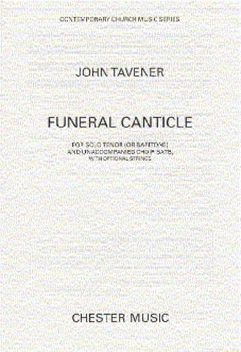 John Tavener - Cántico funerario - Partition - di-arezzo.es