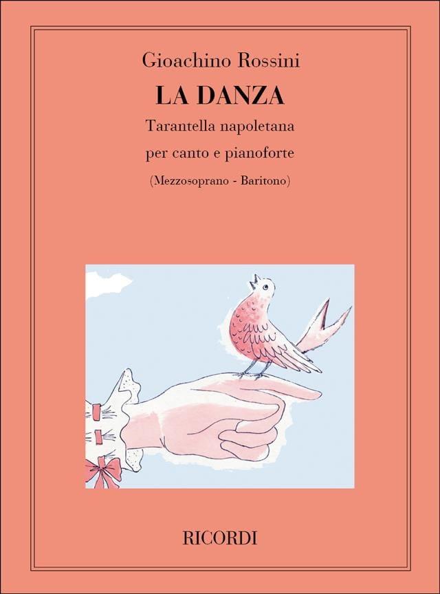 Gioachino Rossini - El Danza. Voz mala - Partition - di-arezzo.es