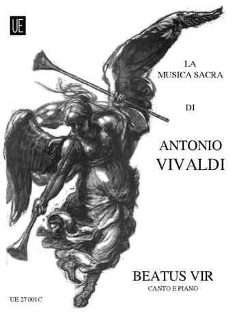 Beatus Vir RV 598 - VIVALDI - Partition - Chœur - laflutedepan.com