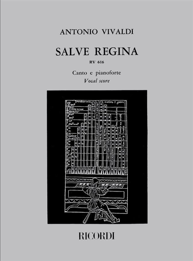 VIVALDI - Salve Regina RV 616 - Partition - di-arezzo.co.uk